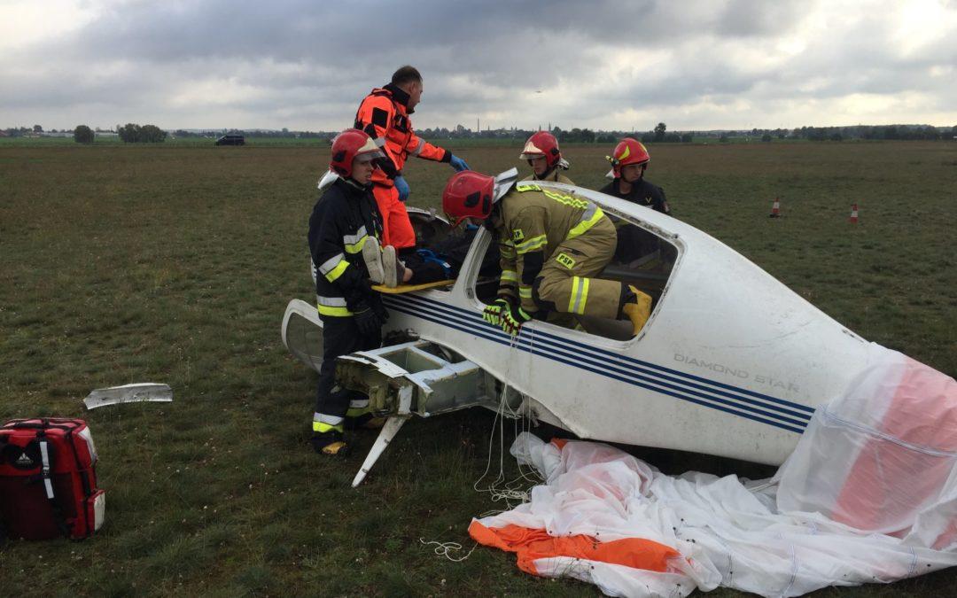 Ćwiczenia służb ratunkowych